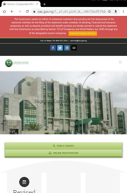 "alt = ""screenshot of CAC business registration portal"