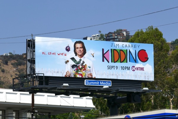 Kidding series launch billboard