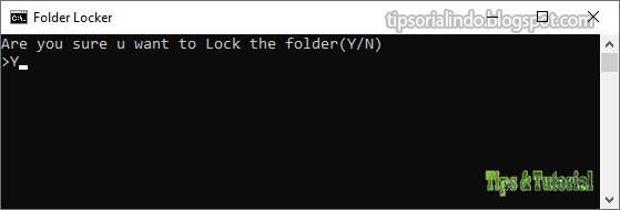 Cara Membuat Password Lock Untuk Folder Tertentu di ...