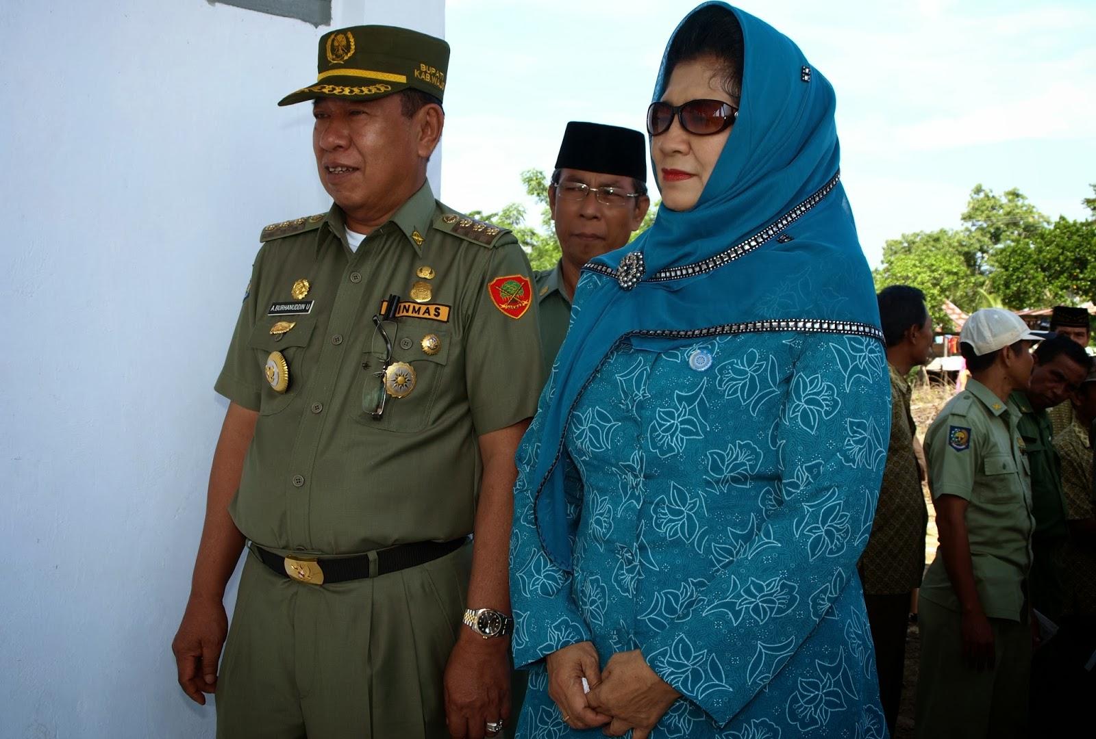 Riwayat Hidup Drs. H. Andi Burhanuddin Unru, MM, Bupati Wajo Dua Periode