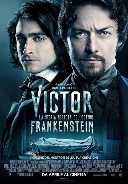 Victor - La storia segreta del dottor Frankenstein poster recensione