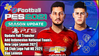 Download PES 2021 PPSSPP Android Chelito V3.1 Camera PS5 & Update Full Transfer
