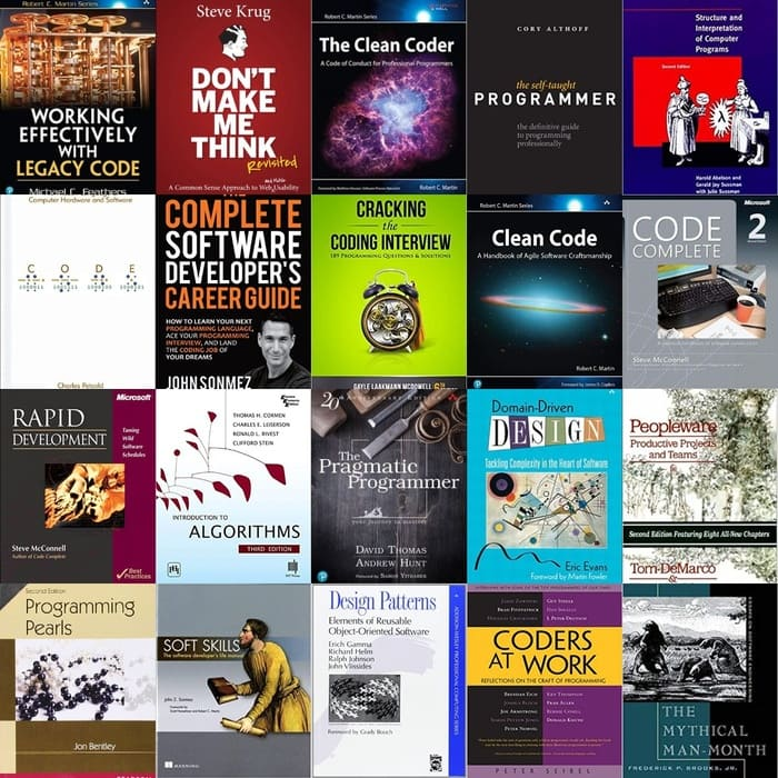 21 Best Programming Books Of All-time - Download all eBooks For Free