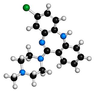 Clozapine 3D structure
