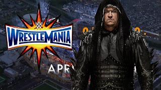 Wrestlemania 33 Undertaker
