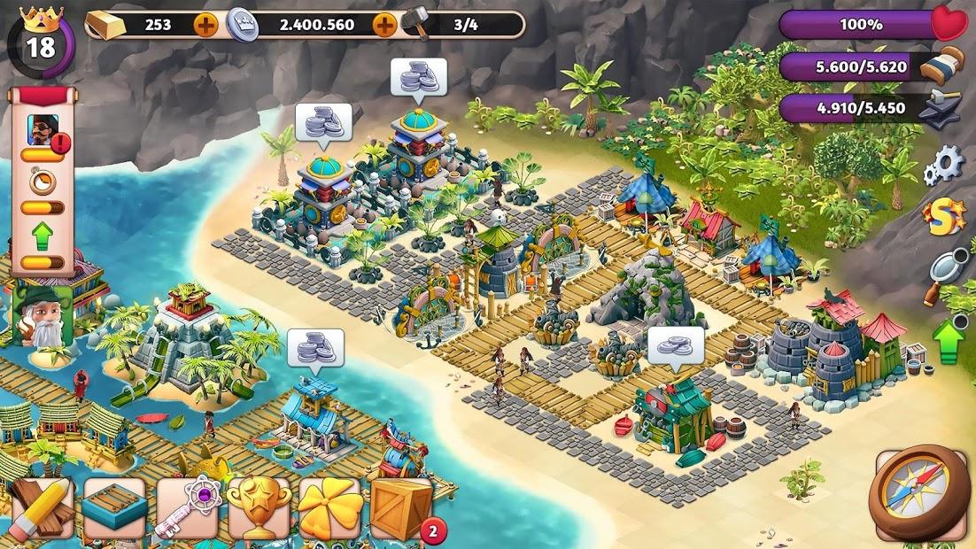 Fantasy Island Sim: Fun Forest Adventure Hileli APK