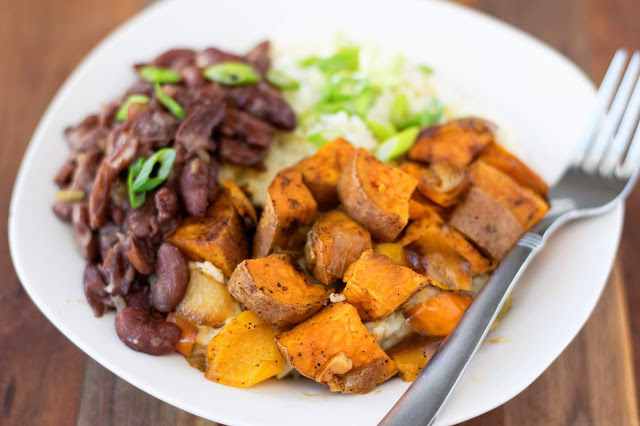 Cajun Sweet Potato Bowl Vegan Recipe