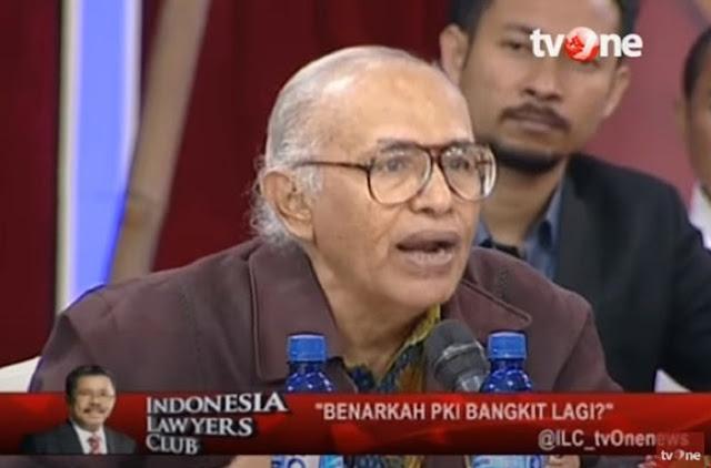 Salim Said di ILC: Omnya Luhut Terlibat dalam Gestapu