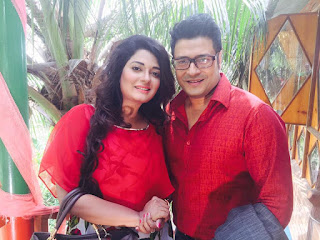 Shampa Hasnine Bangladeshi Actress With Ferdous Ahmed