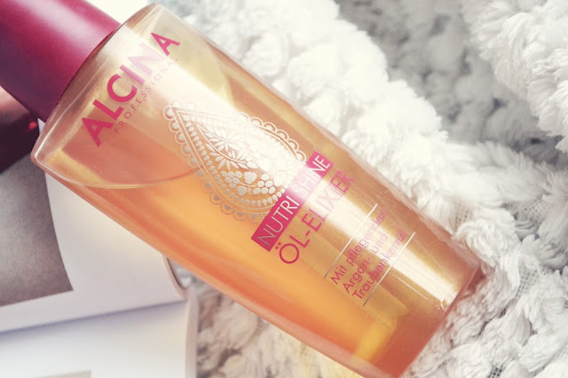 Olej na poškodené vlasy Alcina Nutri Shine