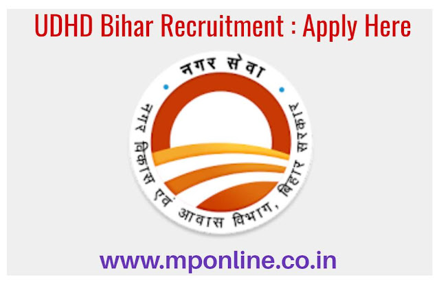UDHD Recruitment 2020