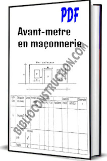 Avant-metre en maçonnerie pdf