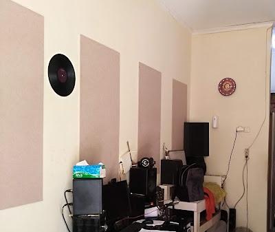 AKustik panel agar mixing dan mastering lagu jadi bagus