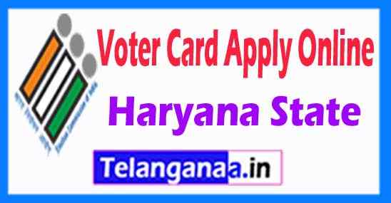 How to Apply Voter ID Card in Haryana State Online
