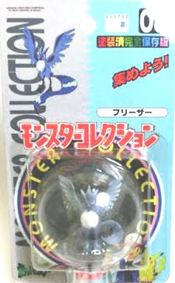Articuno figure Tomy Monster Collection series