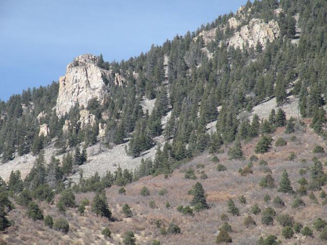 Cimarron Canyon Sill Palisades