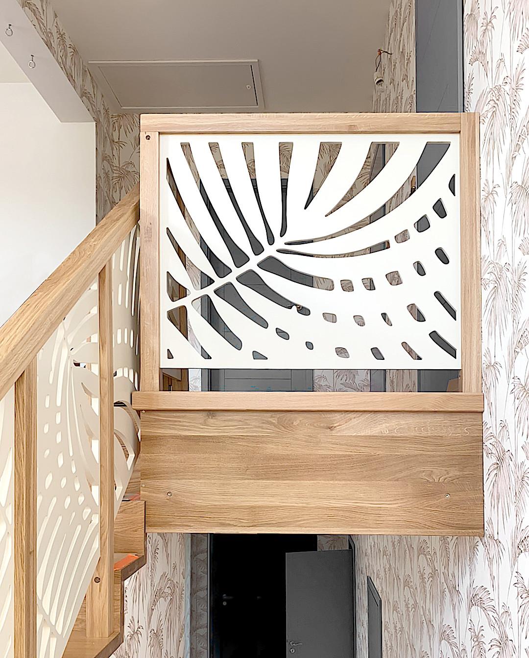 Balustrady ażurowe na schody