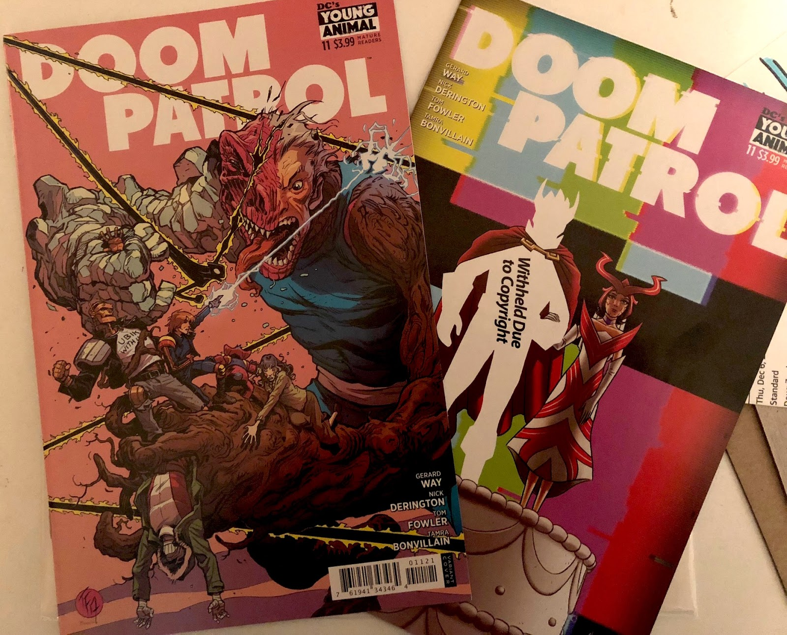 Doom Patrol: WFD: Episode 122: A Little Late Like Immortus