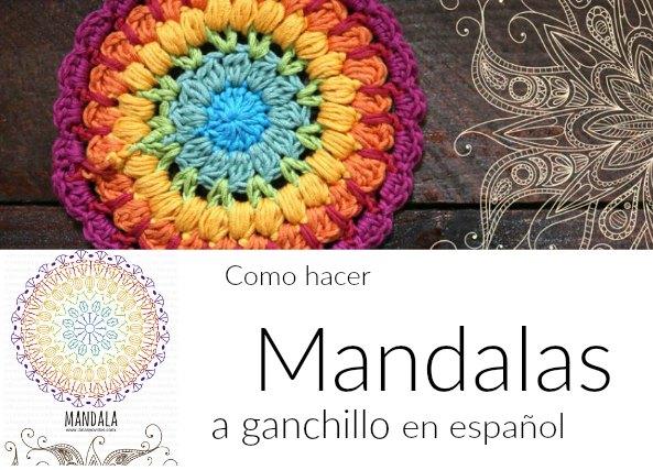 Como hacer mandalas a ganchillo en castellano