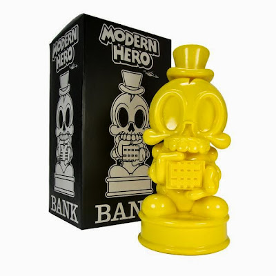 Yellow Edition Modern Hero Vinyl Bank by MAD
