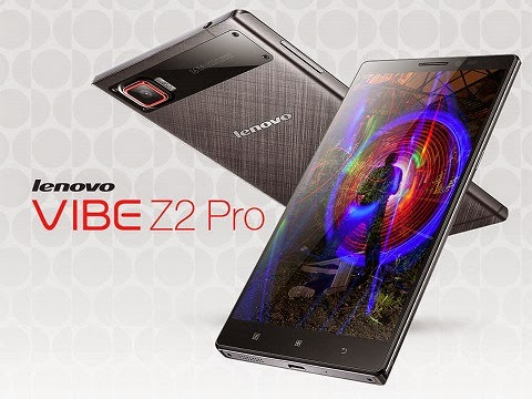 Lenovo Vibe Z2 Pro (K920): Specs, Price and Availability