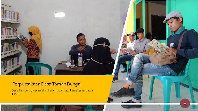 Pojok Literasi Cara Membudayakan Membaca Bagi Remaja di Posyandu Remaja Perpustakaan Desa Taman Bunga Pademawu Pamekasan