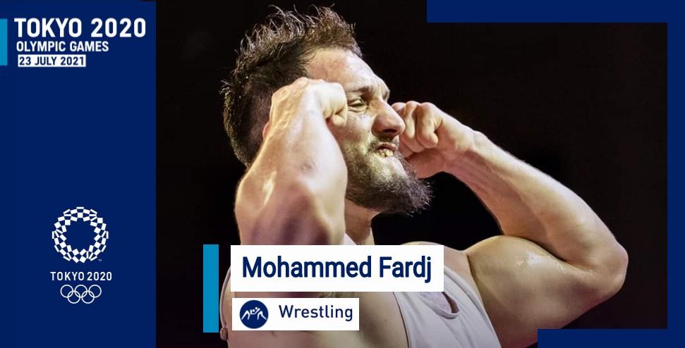 محمد فرج يقتطع تأشيرة التأهل للألعاب الأولمبية