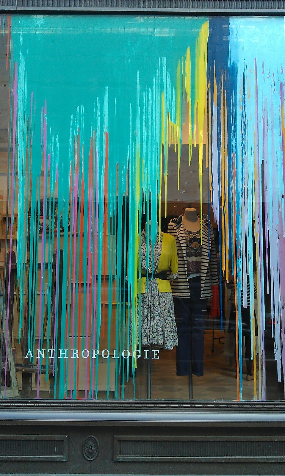 Made In A Window: Anthropologie get a paint job