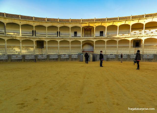 Praça de Toros de Ronda, Andaluzia, Espanha