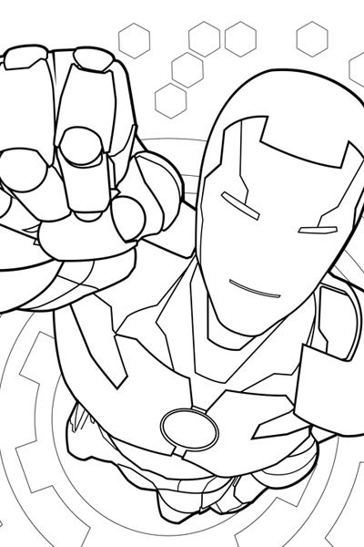 Avengers Coloring Pages - Best Coloring Pages For Kids | 600x400