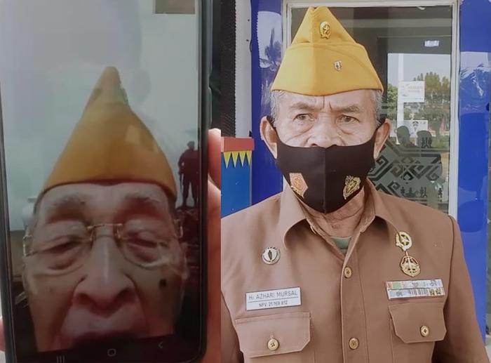 LVRI Sesalkan Pemasangan Bendera Robek di Disdikbud Lampura, Ketua LVRI : Mereka Tadak Tahu Perjuangan