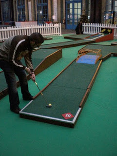Minigolf and Crazy Golf courses in and around London - Alexandra Palace