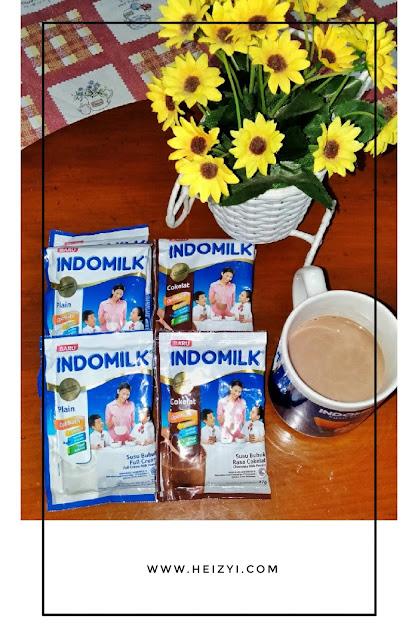 Review Indomilk Susu Bubuk Sachet