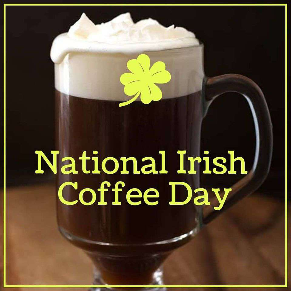 National Irish Coffee Day Wishes Unique Image