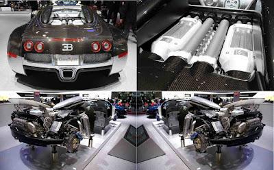 mesin Bugatti Veyron