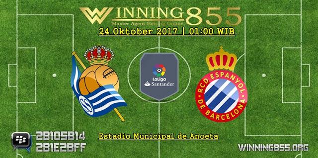 Prediksi Skor Real Sociedad vs Espanyol 24 Oktober 2017