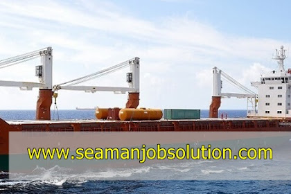 Need able seaman crane operator for container vessel