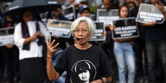 Ketua Aksi Kamisan: Kami Bisa Bahagia Seperti Atta-Aurel Jika Bapak Jokowi Berkenan Teken Pengakuan Negara
