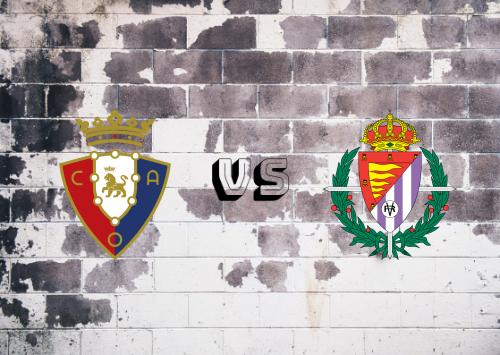 Osasuna vs Real Valladolid  Resumen