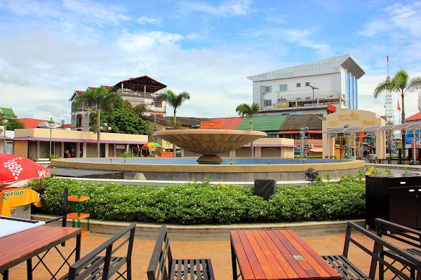 Fuente Nam Phou de Vientian