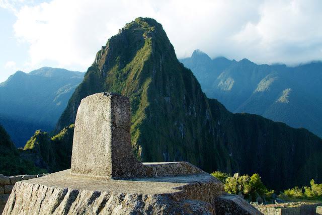 Intihuatana - observatorio solar machu picchu