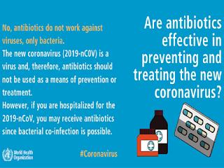 Antibiotics are effective in the treatment of Corona virus