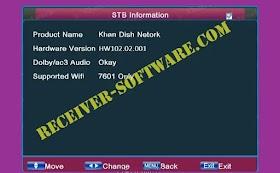 Ali 3510c HW001 Receiver Software Dolby Audio USB Update