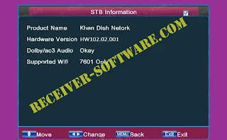 Ali 3510c HW001 Receiver Software Dolby Audio USB Update
