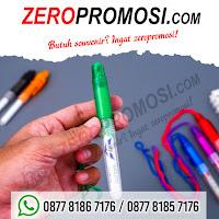 Ballpoint Boss Tali, Souvenir Pen tali, pulpen promosi boss tali, pen insert stiker