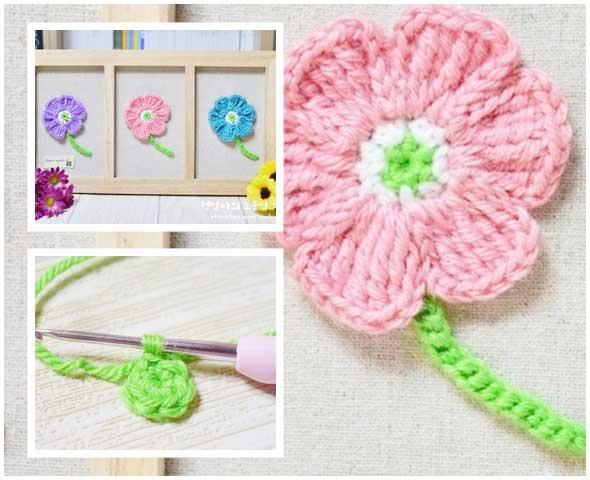 aprender ha tejer flores para hacer cuadros y venderlos