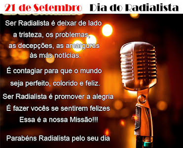 21/9 - Dia do Radialista