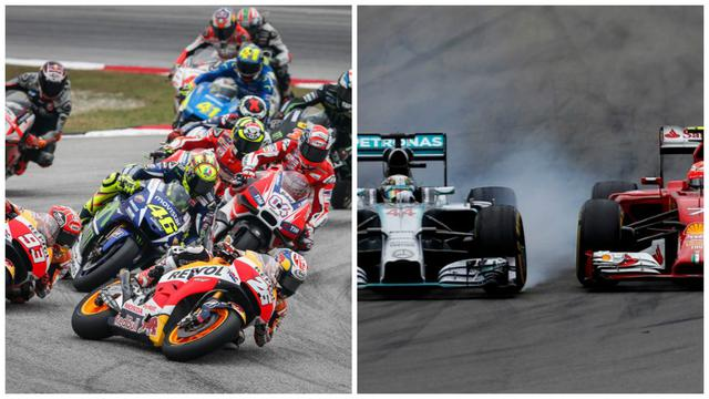 Vice President of Honda Racing Corporation (HRC), Shuhei Nakamoto, said there were two big differences between F1 and MotoGP.