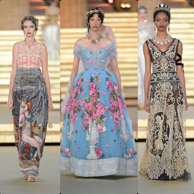 Dolce & Gabbana Alta Moda Temple of Concordia Sicily Fall Winter 2019-2020 by RUNWAY MAGAZINE
