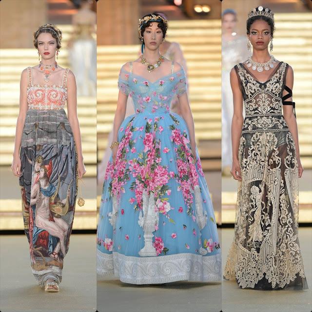 Dolce & Gabbana Alta Moda Temple of Concordia Sicily Fall Winter 2019-2020 by RUNWAY MAGAZINE